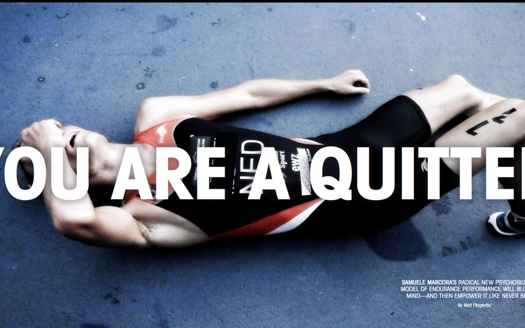 We Are All Quitters – Limitations to Human Endurance Performance