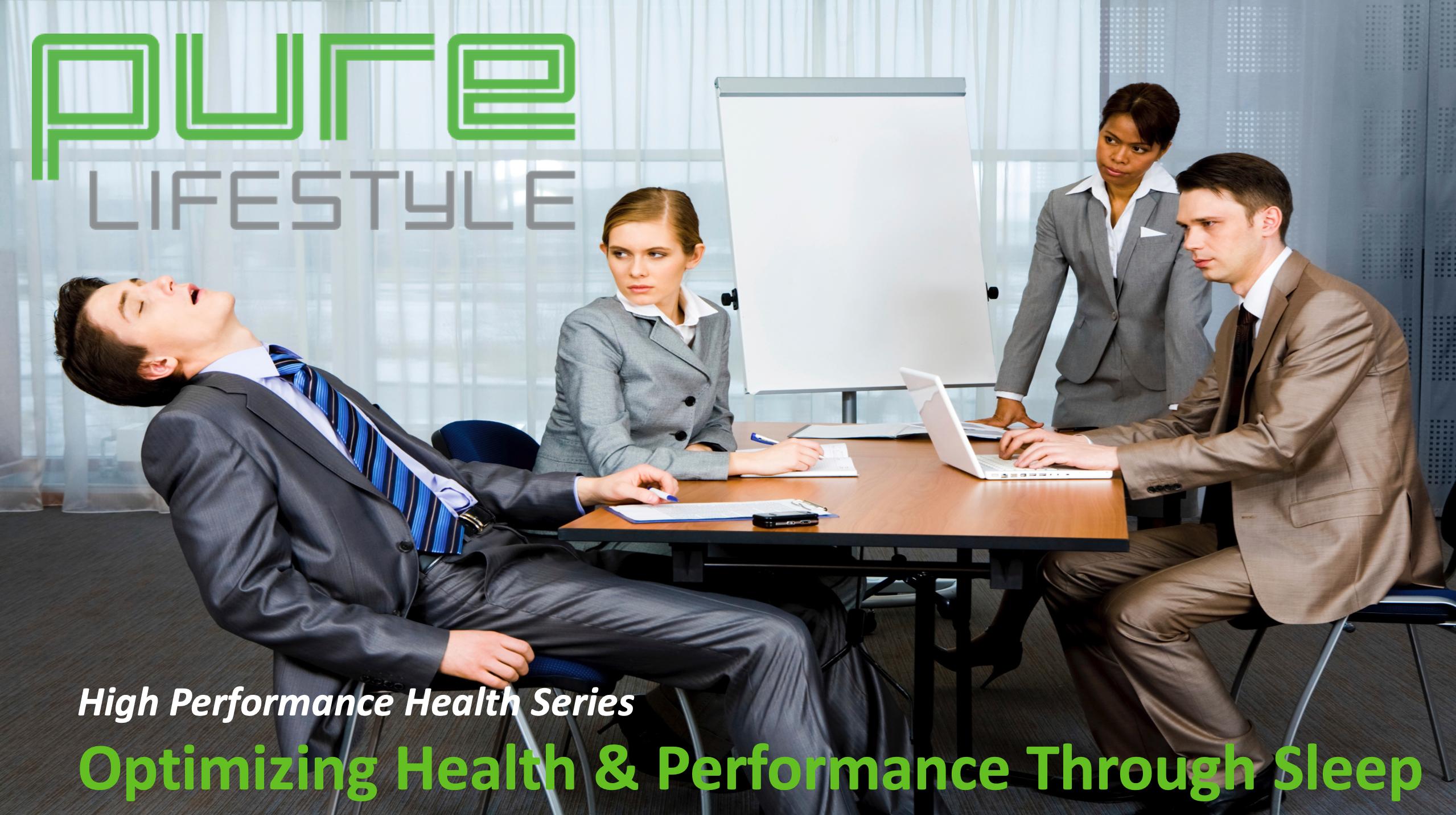 Optimizing health and performance through sleep banner
